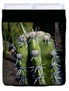 Cactus In Hawaii Duvet Cover