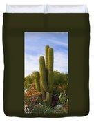 Cactus Monterey California Duvet Cover