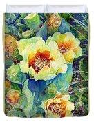 Cactus Splendor II Duvet Cover