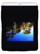 Caddo Lake Reflections Duvet Cover