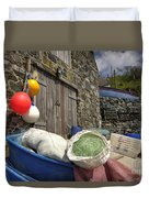 Cadgwith Fishing Paraphernalia  Duvet Cover