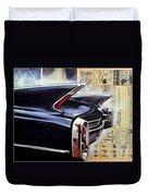 Cadillac Attack Duvet Cover