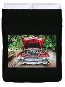 Cadillac Engine Duvet Cover