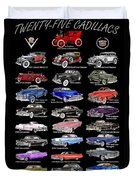 Never Enough Cadillacs  Duvet Cover