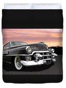 Cadillac Sunset Duvet Cover