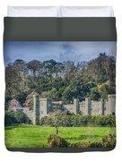 Caerhays Castle Duvet Cover