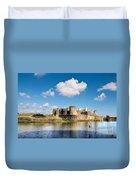Caerphilly Castle 1 Duvet Cover