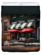 Cafe - Albany Ny - Mc Geary's Pub Duvet Cover