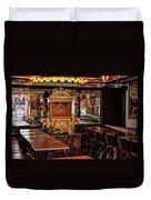 Cafe Chez Eugene - Montmartre Duvet Cover