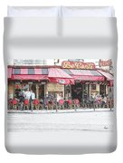 Cafe Conti Duvet Cover