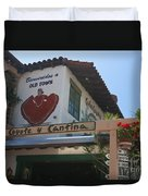 Cafe Coyote Y Cantina Mexican Restaurant Old Town San Diego Duvet Cover