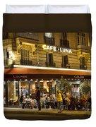 Cafe Luna Duvet Cover