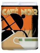 Cafe Noir Duvet Cover