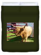 Caged Coo Duvet Cover