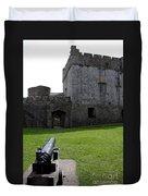 Cahir Castle Yard Duvet Cover