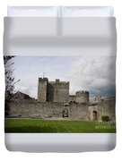Cahir's Castle Second Courtyard Duvet Cover