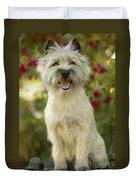 Cairn Terrier Duvet Cover
