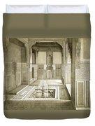 Cairo Mandarah Reception Room, Ground Duvet Cover