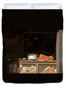 Cake Shop In Kathmandu Duvet Cover