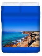 Cala Saona On Formentera Duvet Cover