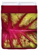 Caladium Leaf Duvet Cover