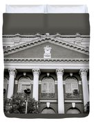 Calcutta Writers Buildings Duvet Cover