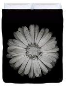 Calendula Flower - Textured Version Duvet Cover