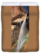 Calf Creek Falls Ut Usa Duvet Cover