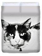 Calico Kitty Duvet Cover