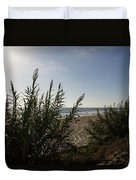 California Carlsbad Beach Hidden View Duvet Cover