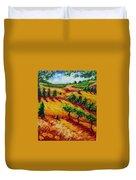 California Chardonnay Duvet Cover