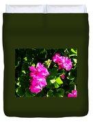 California Flowers Duvet Cover