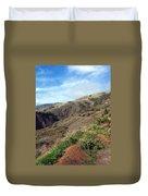 California Hillside Duvet Cover