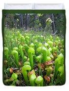 California Pitcher Plant Duvet Cover
