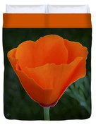 California Poppy Spectacular Duvet Cover