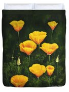 California Poppy Duvet Cover by Veikko Suikkanen