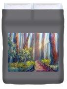 California Redwoods Duvet Cover