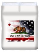 California Republic Within The United States Duvet Cover