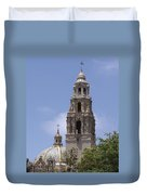 California Tower, Balboa Park, San Diego, California Duvet Cover