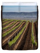California Vineyard Duvet Cover