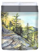Californias Sierras Duvet Cover