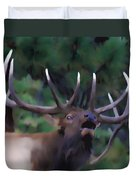 Call Of The Wild Duvet Cover by Shane Bechler