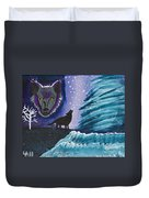 Call Of The Wolf Duvet Cover