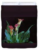 Calla Lilies 3 Duvet Cover