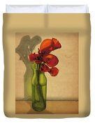 Calla Lilies In Bloom Duvet Cover