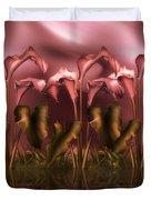 Calla Lily Island Duvet Cover