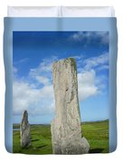 Callanish Tall Stones Duvet Cover