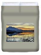 Calm At The Lake Duvet Cover