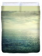 Calm At The Summer Sea Duvet Cover