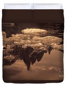 Calm Day In Patagonia Duvet Cover